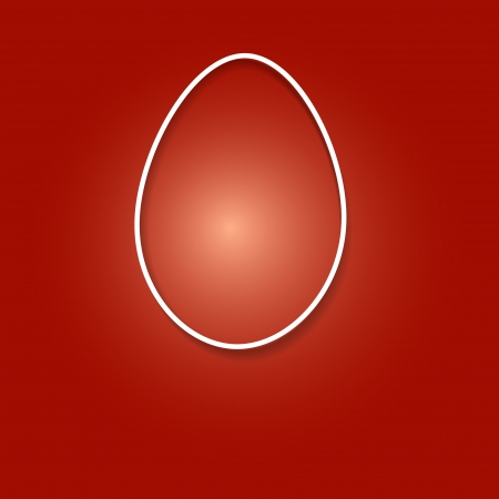 Easter egg template Stock Vector - 17285479