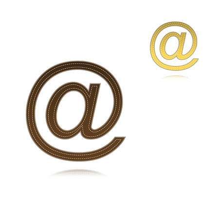 email symbol Stock Vector - 17285431
