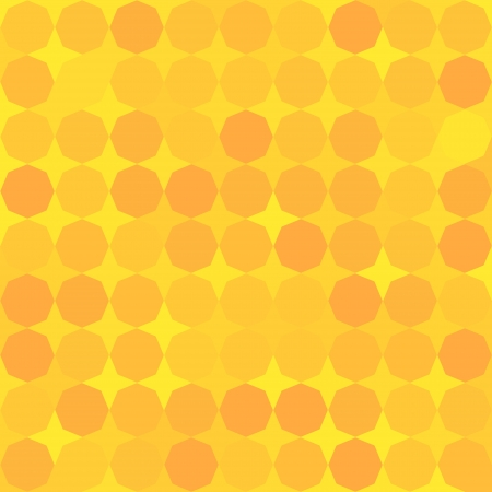yellow walls: mosaic octagon background