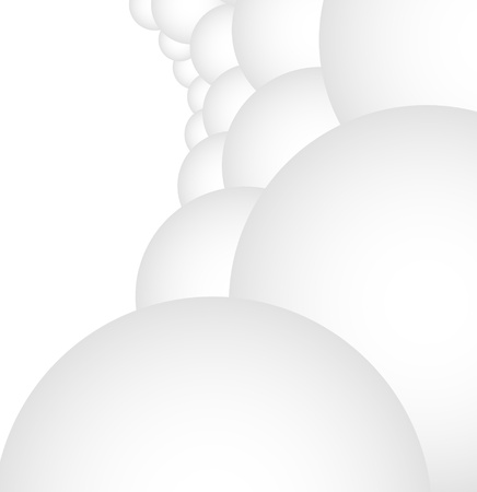 bubles: Abstract background made out of bubles in prespective