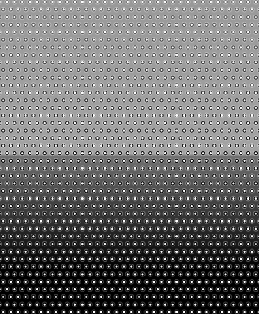 Simple modern black background with white dot pattern   dotted background Stock Vector - 18220781