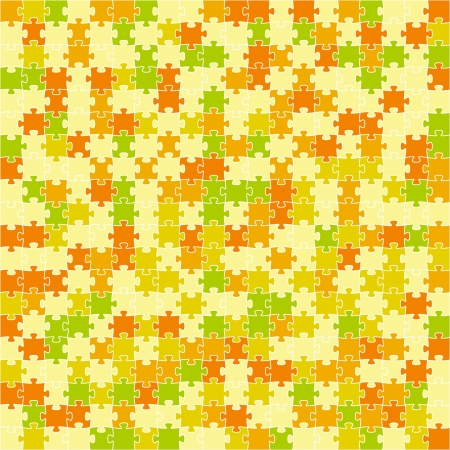 Abstract background made out of puzzle pieces   puzzle pattern Vector