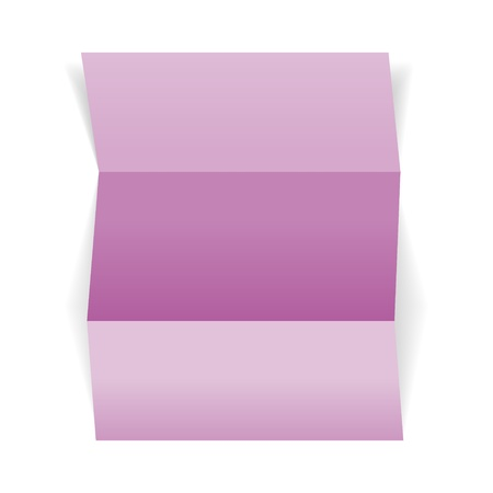 The blank violet piece of paper, ready for your text   piece of violet paper Vector