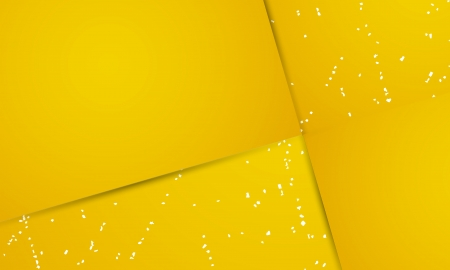 geteilt: Die abstrakte gelben Hintergrund in vier Teile Das elegante abstrakten quadratischen Hintergrund geteilt