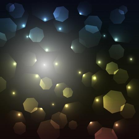 enigmatic: L'astrazione enigmatico fatto di vari heptagons