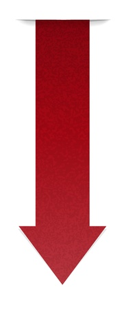 claret: The claret arrow with hidden edge effect