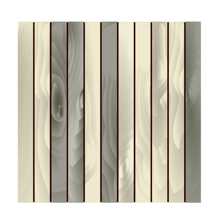 The scalable background made out of wood slabs Vector