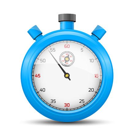 cronometro: La luz azul cron�metro ilustraci�n