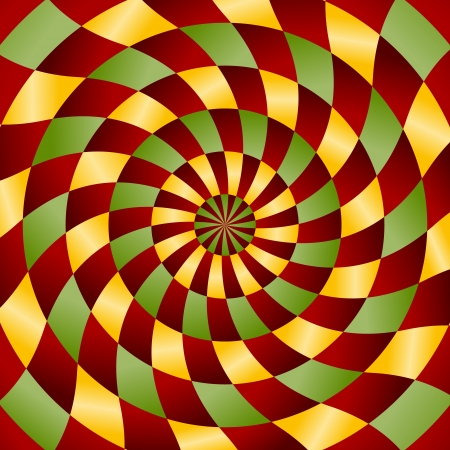 never ending: Abstract never ending background in red ,yellow and green color Illustration
