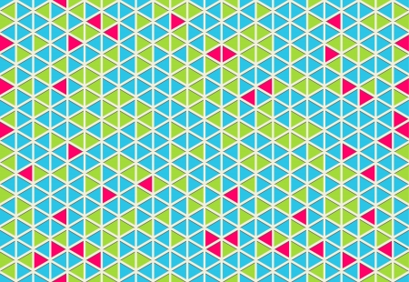 The abstract seamless triangle background Vector