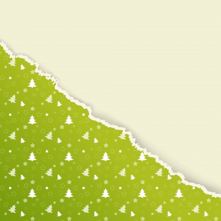 wrapping paper: The Christmas background with torn paper effect
