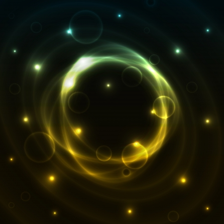The abstract background made out of stars and color mist Vector