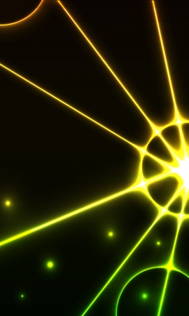 The abstract background made out of rays Vector