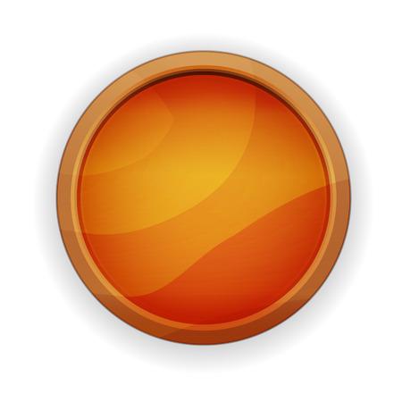 radio button: il pulsante di opzione in legno bianco con texture effetto
