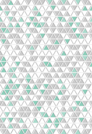 The abstract seamless triangle background