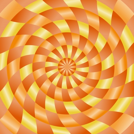 never ending: Abstract never ending background in orange and yellow color Illustration