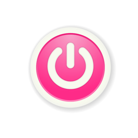 standby: the pink circle button with standby icon