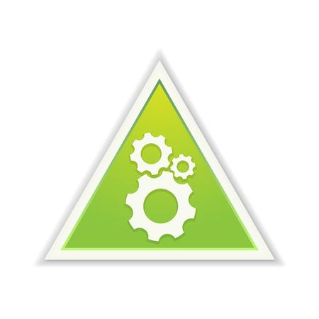triangle button: El bot�n tri�ngulo verde con el s�mbolo de ajuste