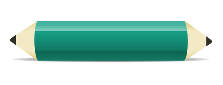 the illustration of pencil with blank space for your text Illustration