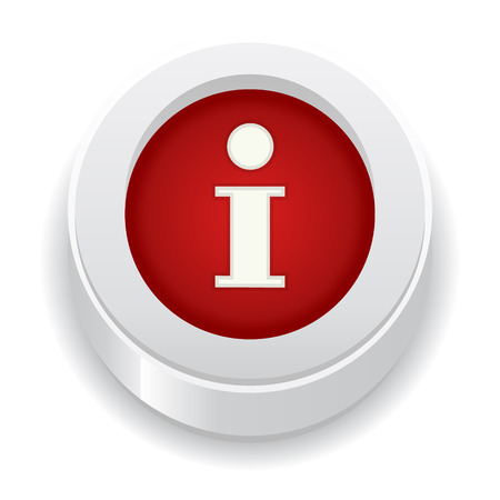 the circle button with i letter