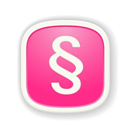 ordenanza: el icono del p�rrafo con el bot�n de rosa