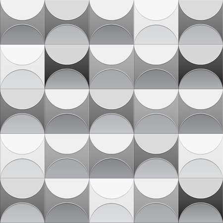 catchy: black and white abstract background made out of circles  beautiful background   catchy background