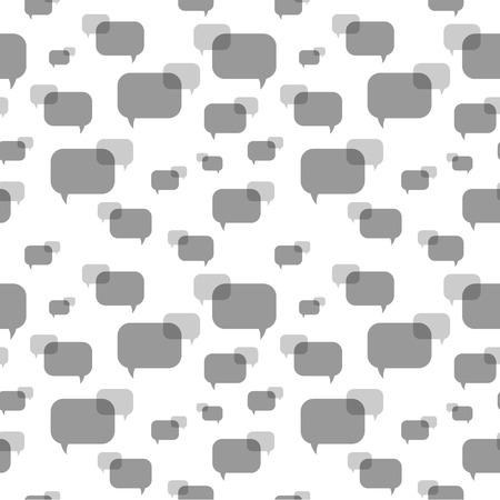 The seamless communication pattern Ilustração