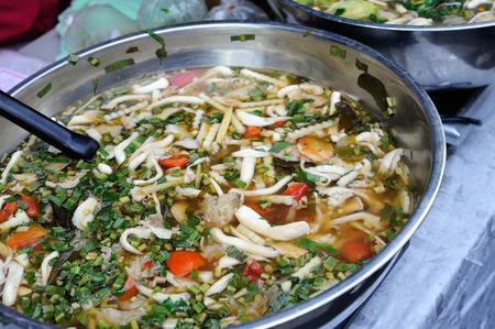 tom': Mushroom tom yum soup