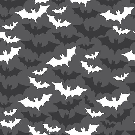 Halloween Bats seamless repeat pattern great for fabric, home decor, costumes, and more 스톡 콘텐츠