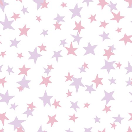 Tossed pink and purple stars on white background, seamless repeat pattern. Great for coordinating with my dancing hippos pattern, kids clothes, home decor, nursery decor and more.