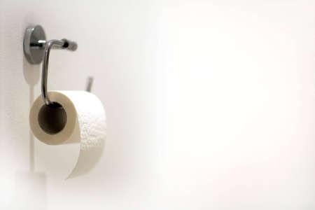 watercloset: loo paper Stock Photo