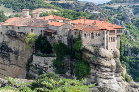 SPIRITUAL LIFE IN THE MONASTERIES OF METEORA - KALAMBAKA - GREECE