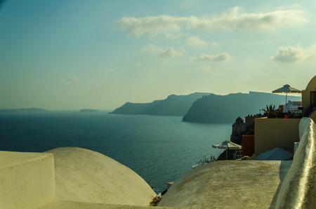 antiquity: PEACE, BEAUTY, RELAX AND MY READING ON THE ISLAND OF SANTORINI- OIA - GREECE Editorial