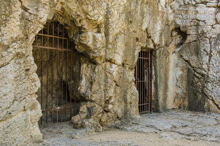 Ancient Prison of Greece in it Socrates spent the last days of his life