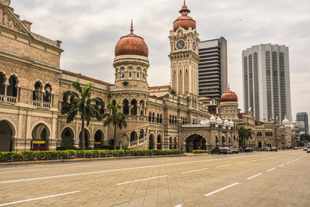 Sultan Abdul Samad building in Independence Square Kuala Lumpur - Malaysia