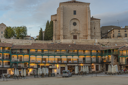 Main square also used for bullfighting and that boasts as being the oldest and best preserved of all Spain. Chinchon town. Madrid's community. Spain