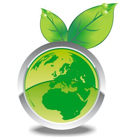 ambiente: mondo eco3 Illustration