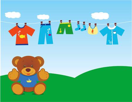 teddy bear with clothes 2