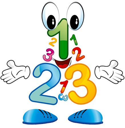 numera: n�meros de 123 Vectores