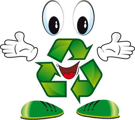logo recyclage: Eco 2 Illustration