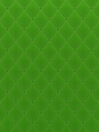 Green Velour quilted background photo