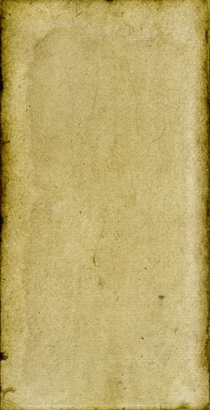 Old paperboard- yellow background