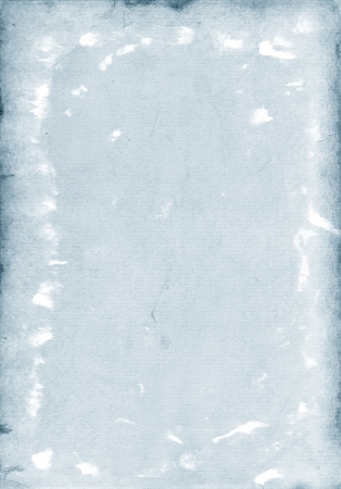Old paper- gray-blue background Stock Photo