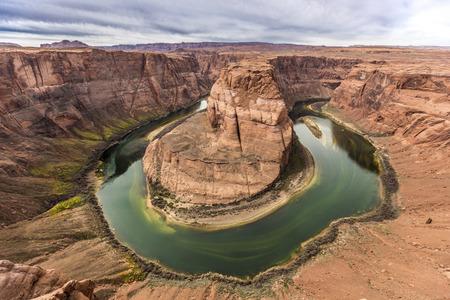 to bend: Horseshoe Bend. Grand Canyon. Arizona.