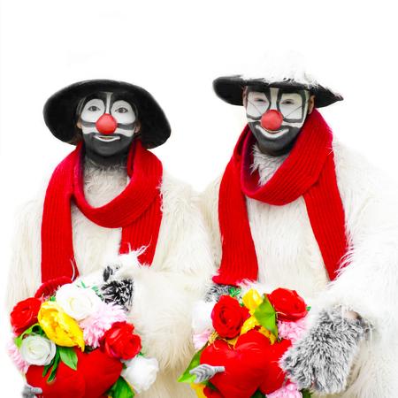 Funny clowns - comedian.