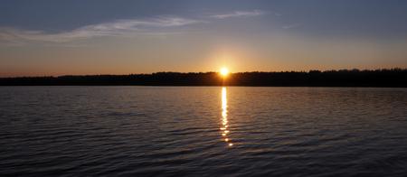 Nature sauvage et calme du Nord pour les loisirs et la pêche.