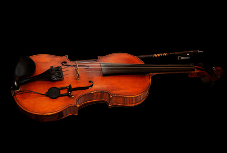 Musical stringed instrument for musical performance. Classical orchestral music. 写真素材