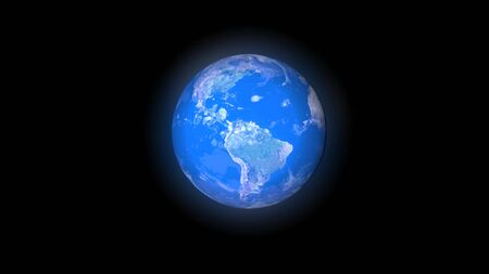 Blue planet Earth.