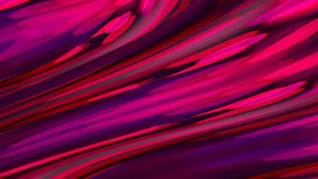 Abstract colorful brush strokes in 3D.