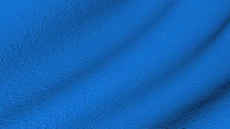 Flutter texture bumpy blue surface.